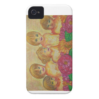 France - scenery of family - iPhone 4 cover