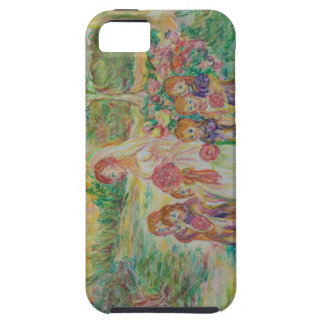 France - scenery of family - morning of formula iPhone SE/5/5s case
