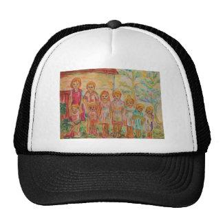 France - scenery of family - trucker hat