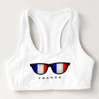 France Shades custom sports bra