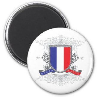 France Shield Magnet