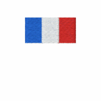 France shirt - Embroidered French flag