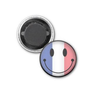 France Smiley Magnet