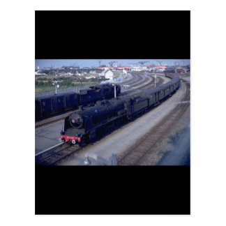France, SNCF 2-8-2 #141-C-23_Trains of the World Postcard