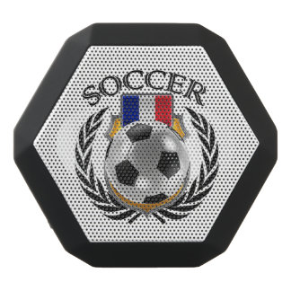 France Soccer 2016 Fan Gear Black Bluetooth Speaker