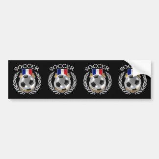 France Soccer 2016 Fan Gear Bumper Sticker