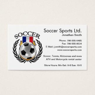 France Soccer 2016 Fan Gear Business Card