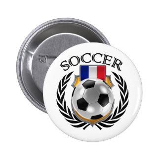 France Soccer 2016 Fan Gear Button