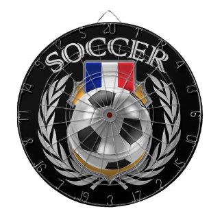 France Soccer 2016 Fan Gear Dartboard With Darts