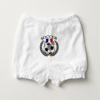 France Soccer 2016 Fan Gear Diaper Cover