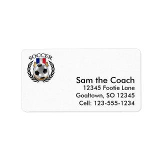 France Soccer 2016 Fan Gear Label