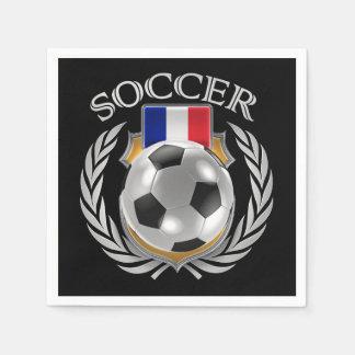 France Soccer 2016 Fan Gear Paper Napkin