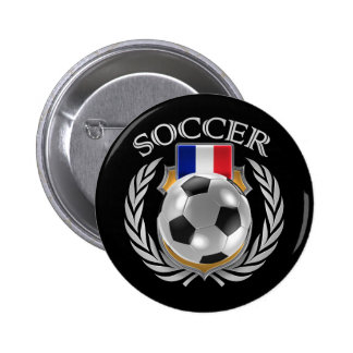 France Soccer 2016 Fan Gear Pinback Button