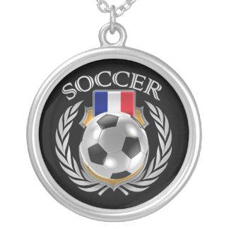 France Soccer 2016 Fan Gear Silver Plated Necklace