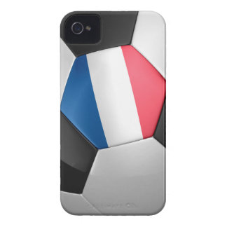 France Soccer Ball iPhone 4 Case