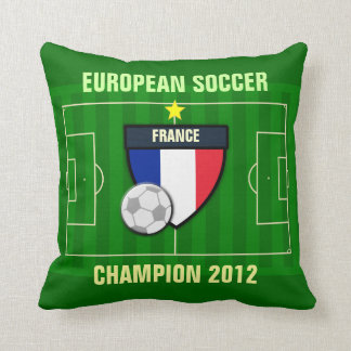 France Soccer Champion 2012 Pillow