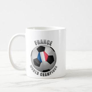 FRANCE SOCCER CHAMPIONS COFFEE MUG