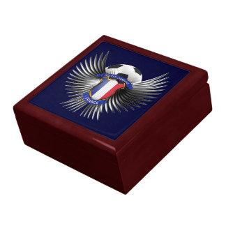 France Soccer Champions Trinket Box