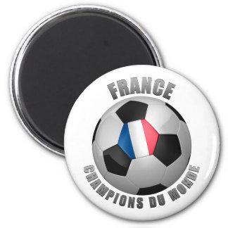 FRANCE SOCCER CHAMPIONS MAGNET
