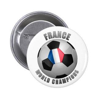 FRANCE SOCCER CHAMPIONS PIN
