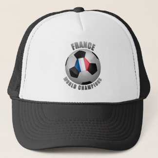 FRANCE SOCCER CHAMPIONS TRUCKER HAT