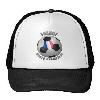 FRANCE SOCCER CHAMPIONS TRUCKER HATS