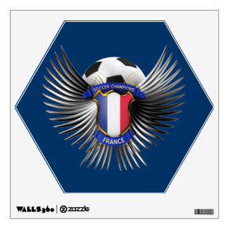 France Soccer Champions Wall Decal