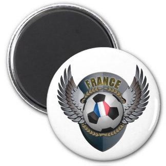 France Soccer Crest Magnet