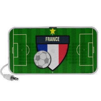 France Soccer Flag Football Travel Speaker