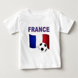france soccer football world cup 2010 baby T-Shirt