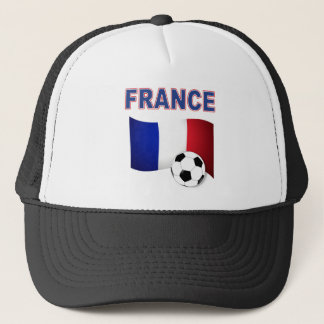 france soccer football world cup 2010 trucker hat