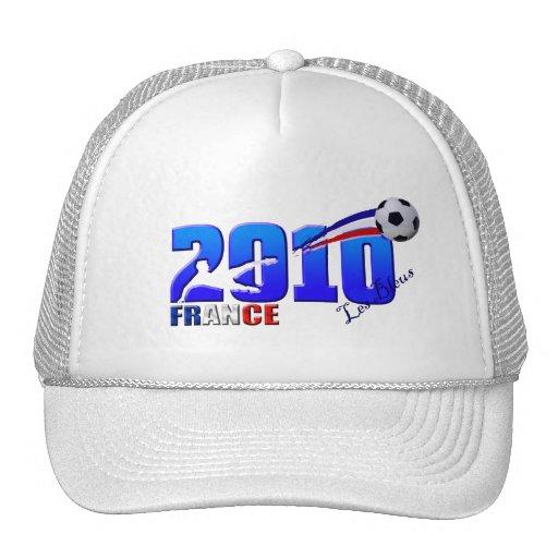 France Soccer Les Bleus 2010 flag gifts Mesh Hats