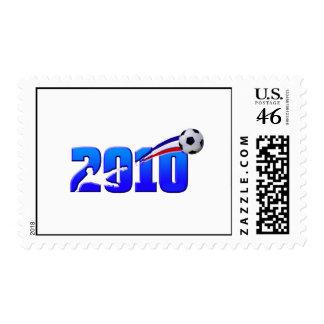 France Soccer Les Bleus 2010 Stamp