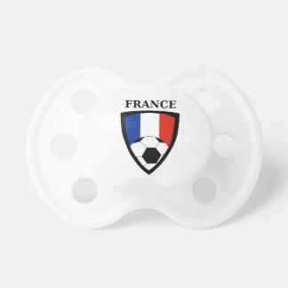 France Soccer Pacifier