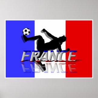 France Soccer Poster