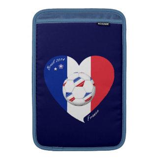 """FRANCE"" Soccer Team. Fútbol de Francia 2014 Funda MacBook"