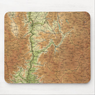 France southeastern section Corsica Marseille Mouse Pad