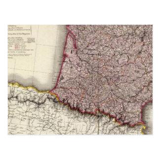 France Southwest Postcard