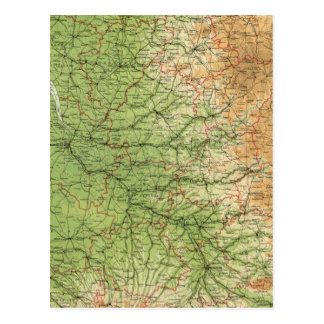 France southwestern section Bordeaux Postcard