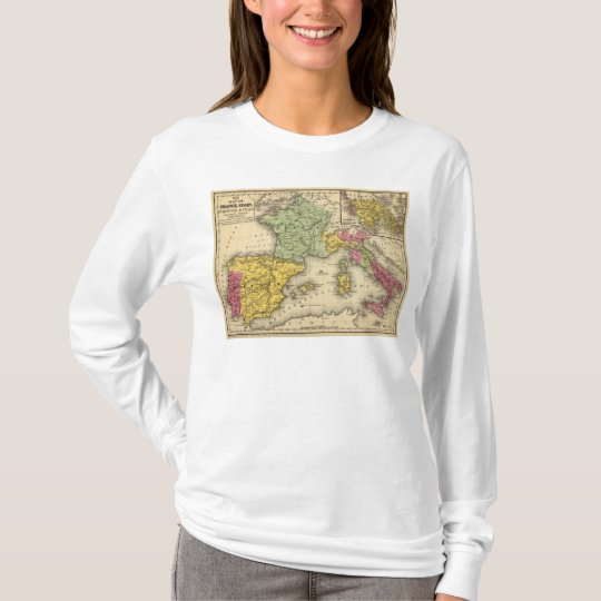 France, Spain, Portugal, Italy T-Shirt