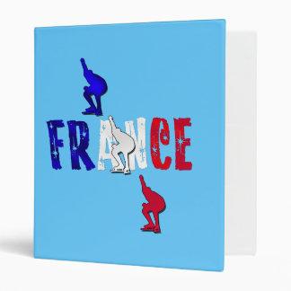 France speed skating binder file for skaters