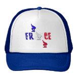 France speed skating Truckers ice skates cap Mesh Hats