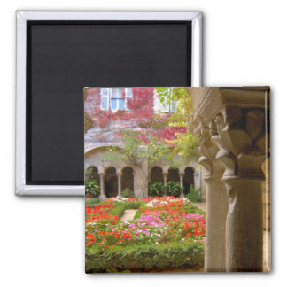 France, St. Remy de Provence, cloisters at 2 Inch Square Magnet