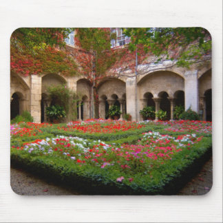 France, St. Remy de Provence, cloisters at 2 Mouse Pad