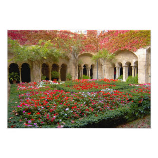 France, St. Remy de Provence, cloisters at 2 Photo Print