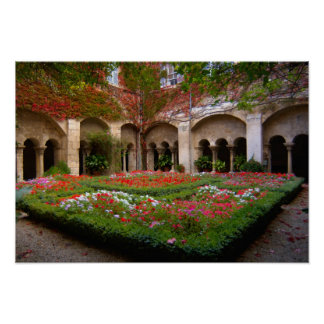 France, St. Remy de Provence, cloisters at 2 Poster