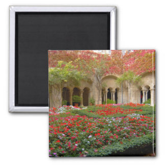 France, St. Remy de Provence, cloisters at 3 2 Inch Square Magnet