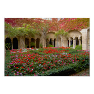 France, St. Remy de Provence, cloisters at 3 Poster