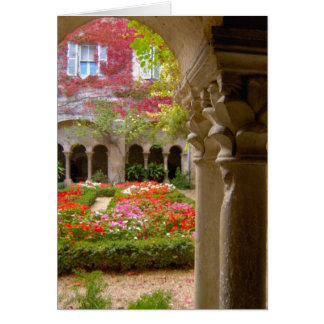 France, St. Remy de Provence, cloisters at Card