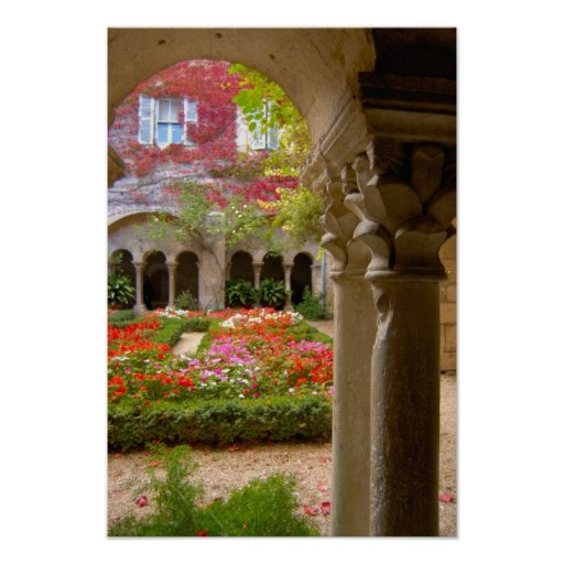 France, St. Remy de Provence, cloisters at Posters